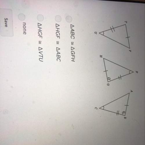 Which triangles are congruent by asa