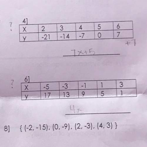 On numbers 4 and 6 . writing a function rule