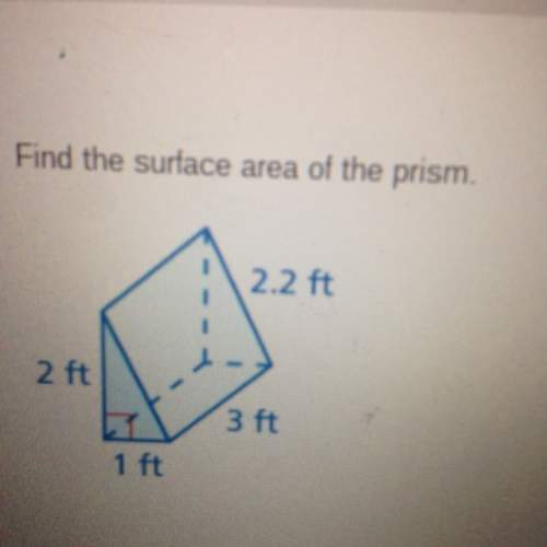Idon't know how to solve surface area