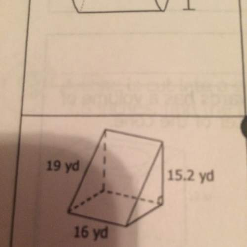 Find the surface area of the figure.