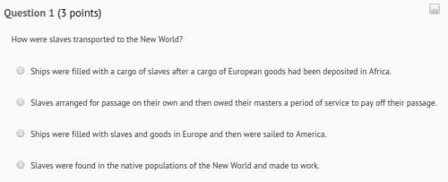 How were slaves transported to...</a></div><div class=