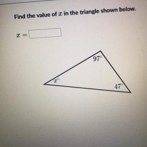 Find the value of x in the tria...</a></div><div class=