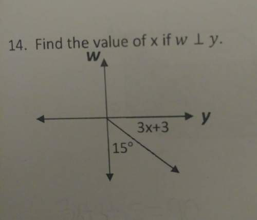 Find the value of x if w is perpendicular t...</a></div><div class=
