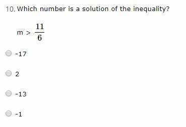 Which number is a solution of the inequality...</a></div><div class=