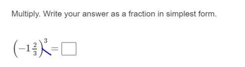Solve and write in fraction simplest form