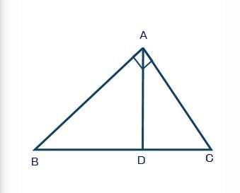 Seth is using the figure shown below to prove pythagorean theorem using triangle similarity: in the