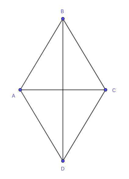 Find the angles of the rhombus if the ratio of the angles formed by the diagonals and the sides is 4