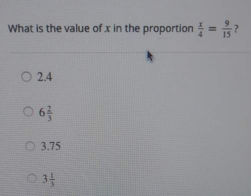 What is the value of x in the proportio...</a></div><div class=