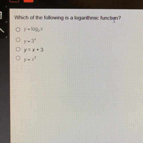 Which of the following is a logarithmic...</a></div><div class=