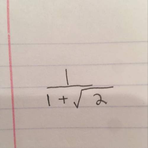 Ineed to know the steps of how to rationalize the denominator of the problem above. i already have a