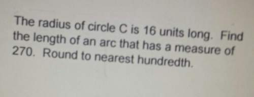 How do you find the length of an arc