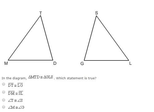 In the diagram mtd ≅  gls which st...</a></div><div class=