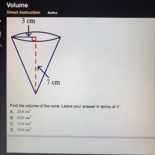 Find the volume of the co...</a></div><div class=