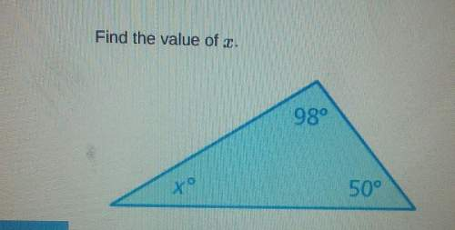How do you fine the value of x with 98 and 5...</a></div><div class=