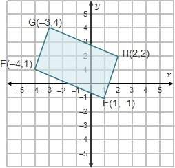 What is the perimeter of rectangle efgh?