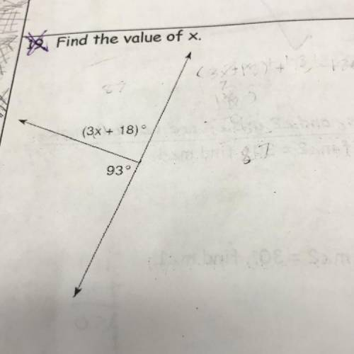 Find the value of x!!