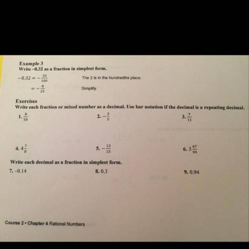 Write each fraction of mixed number as a decimal...</a></div><div class=