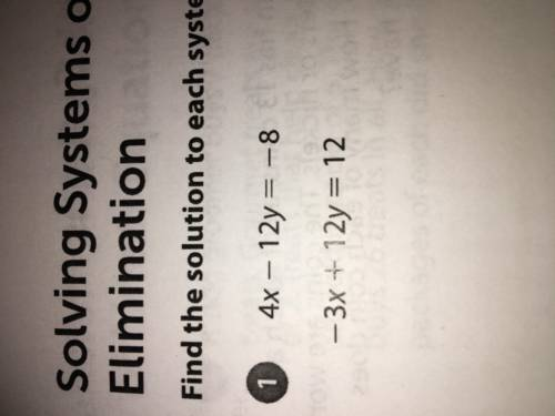 What's is the solution 4x-12y=-8 -3x+12y=...</a></div><div class=